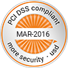PCI DSS compliant Seal